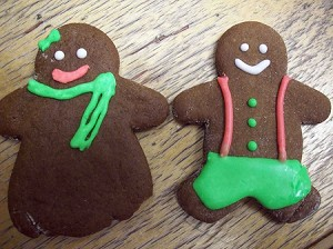 Gingerbread People small